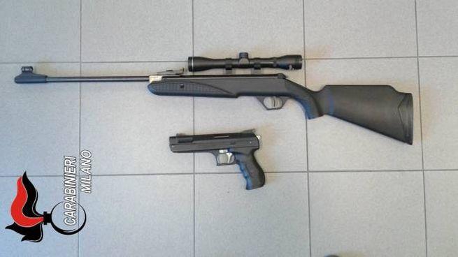 Le armi utilizzate per sparare ai piccioni