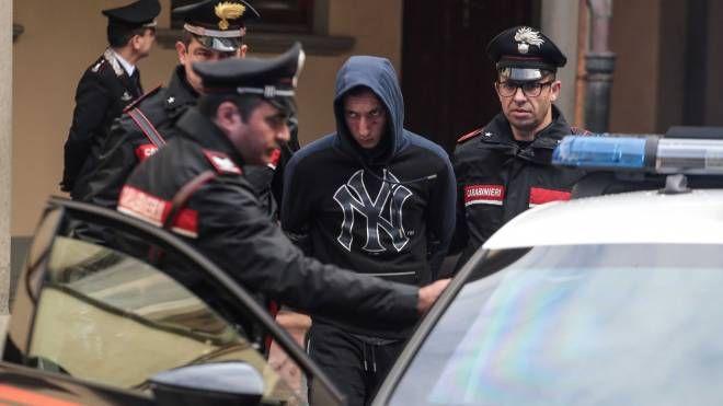 Uno degli arrestati della banda (New Press Photo)