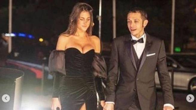 Valentino Rossi con la fidanzata Francesca Sofia Novello (da Instagram)