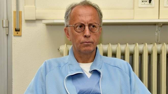 Il professor Claudio Vicini (foto Fantini)
