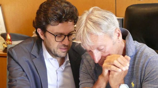 Il pm Lorenzo Gestri e il procuratore Giuseppe Nicolosi Foto Attalmi