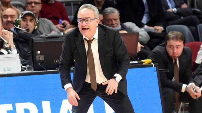 """Sacripanti, coach della Virtus Bologna: """"Contro il Medi serve aggressività"""" (Schicchi)"""