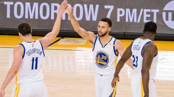 Curry e Thompson (LaPresse)