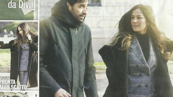 Filippo Magnini e Giorgia Palmas nella rivista Diva e Donna