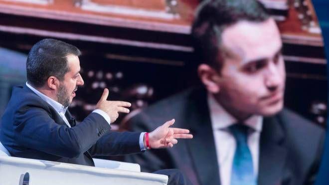 Matteo Salvini e Luigi Di Maio (Imagoeconomica)