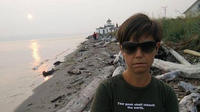 """L'autrice del libro """"Oltre i Nirvana"""" Valeria Sgarella"""
