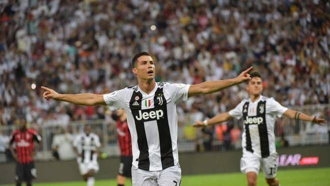La gioia di Cristiano Ronaldo