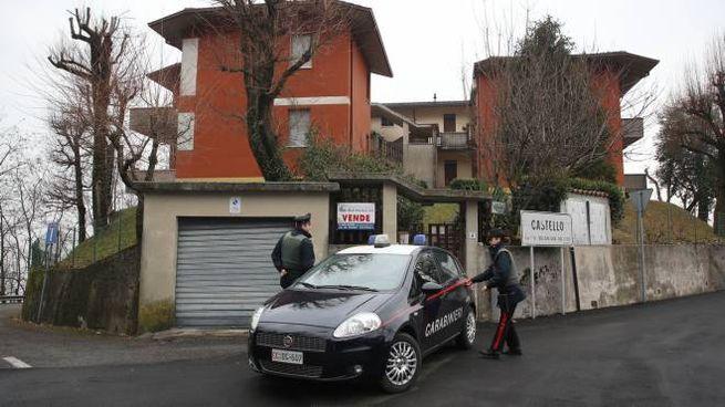 L'abitazione in cui sono stati trovati rapitore e ostaggio (Fotolive)