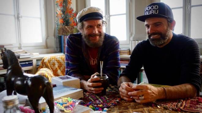 Jovanotti e Filippo Polidori (foto di Francesca Valiani)