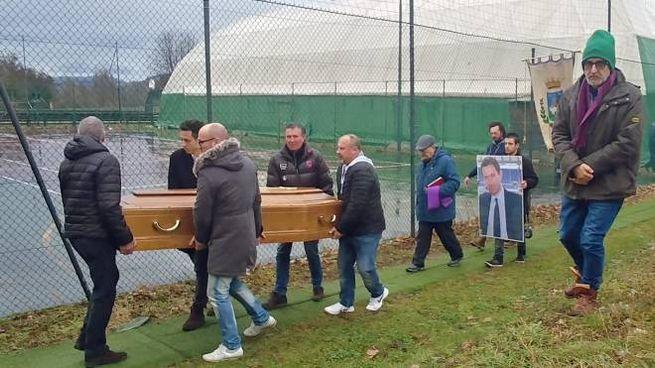 Il funerale di Alessio Giovannini