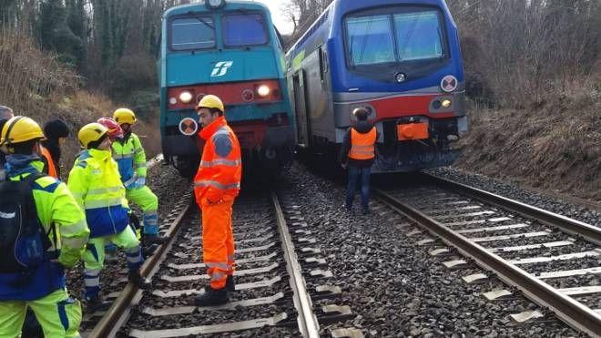 I treni bloccati