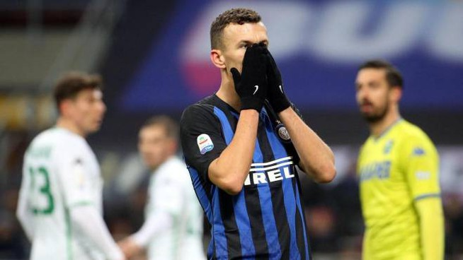 Perisic in Inter-Sassuolo (Ansa)