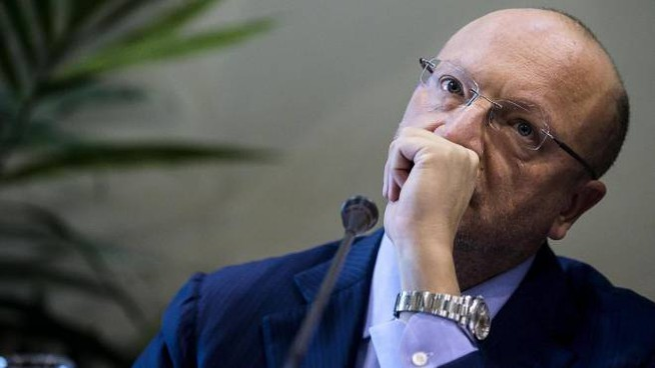 Il presidente di Confindustria Vincenzo Boccia (Ansa)