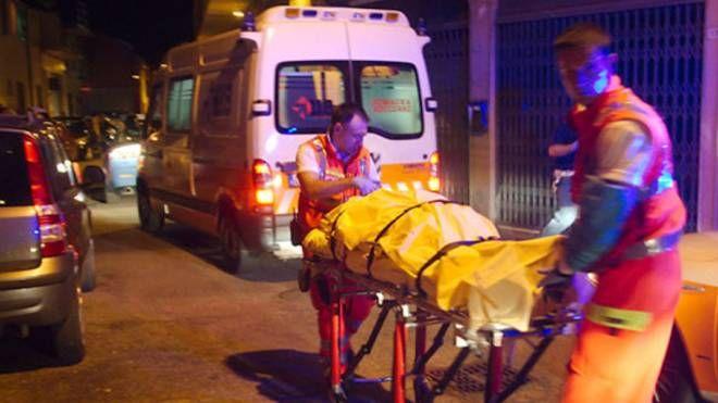 Sul posto è intervenuta un'ambulanza del Suem
