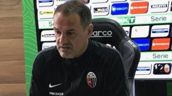 Mister Vivarini dell'Ascoli Calcio