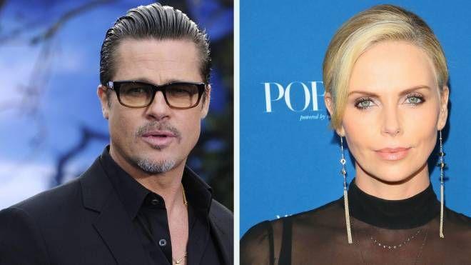 Brad Pitt e Charlize Theron, è amore ? (combo)