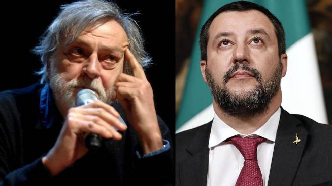 Gino Strada e Matteo Salvini
