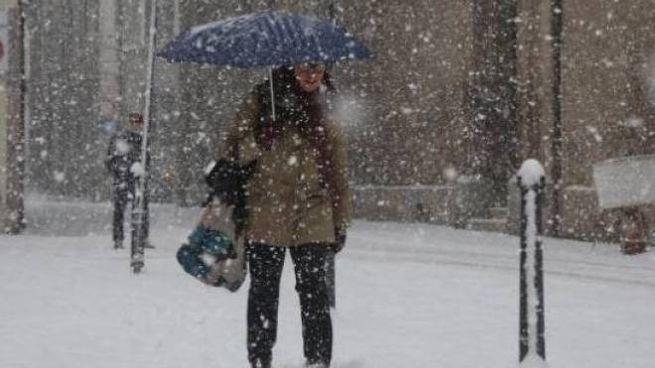 Allerta neve sopra per le zone collinari