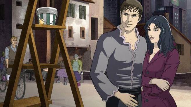 L'orologiaio supereroe Adrian (Ansa)