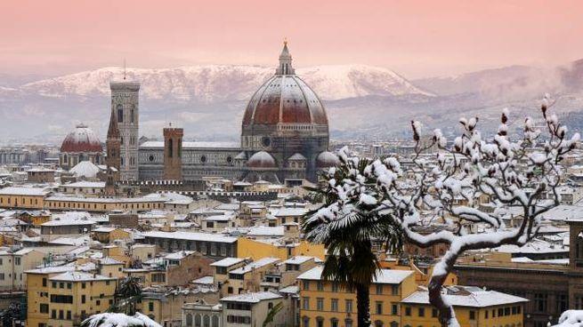 Previsioni del tempo, rischio neve a Firenze (Foto d'archivio)