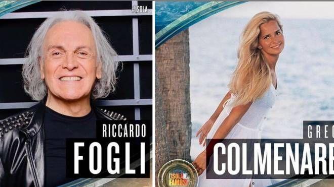 Riccardo Fogli e Grecia Colmenares (Instagram)
