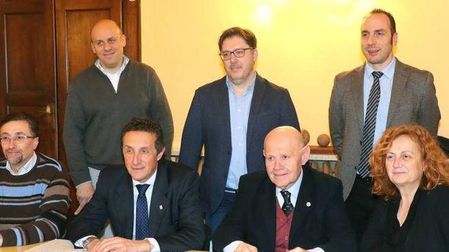 I sindaci della Bassa Romagna firmatari dell'appello