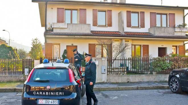 I carabinieri a casa di Chiara Alessandri