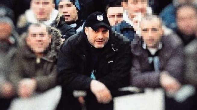 Nino Ciccarelli durante una partita