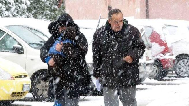 La neve del 22 gennaio a Rimini (foto PasqualeBove)