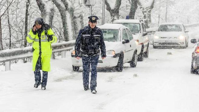 Meteo Emilia Romagna, neve e gelo: le previsioni dei prossimi giorni (Foto Pruccoli)
