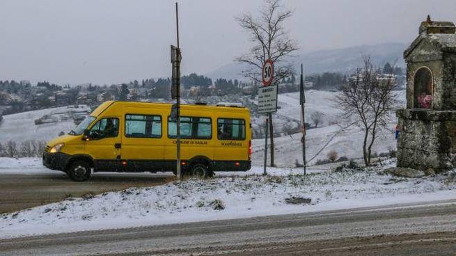 La neve in Mugello (Fotocronache Germogli)