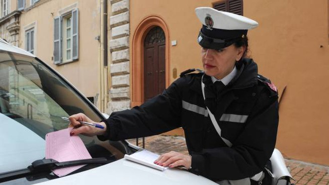 Polizia locale (foto Crocchioni)