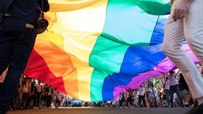 Un'immagine di un Gay Pride