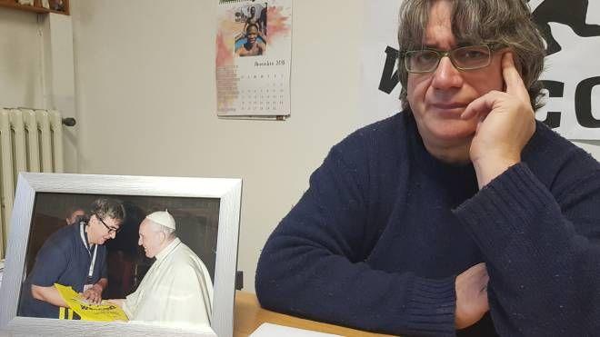 Il parroco di Ramini e Vicofaro, Don Massimo Biancalani