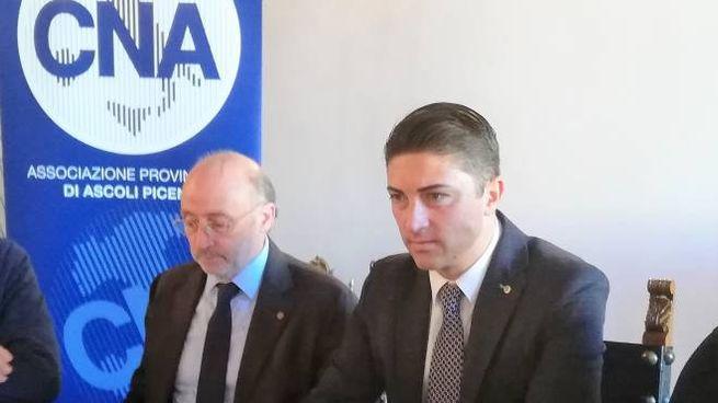Da sinistra Luigi Passaretti e Francesco Balloni della Cna