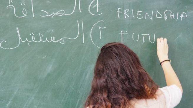 Lezioni di arabo (foto di repertorio)