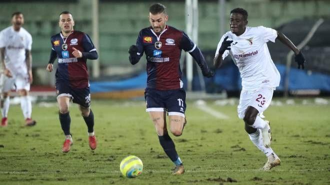 Imolese-Fano 1-0, Erik Lanini uomo partita (Isolapress)