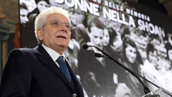 Il presidente Mattarella celebra la Giornata della memoria (Ansa)