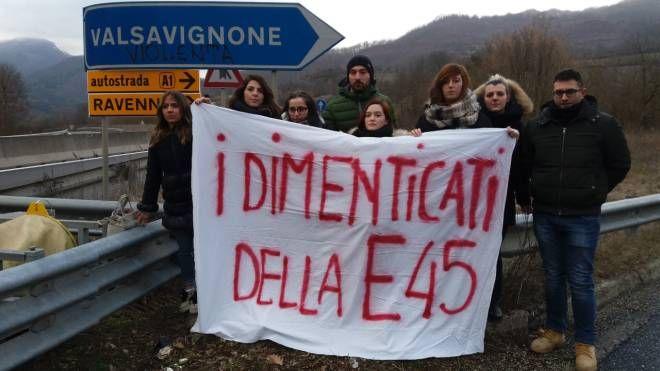 La protesta a Valsavignone