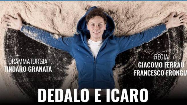 "La locandina di ""Dedalo e Icaro"""