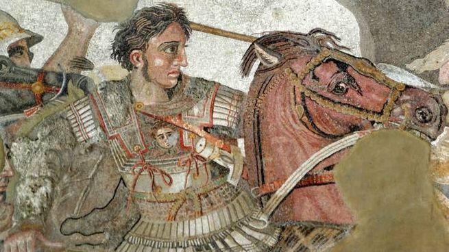 Alessandro Magno nella battaglia di Isso (Museo archeologico nazionale di Napoli)