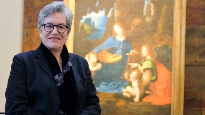 La curatrice Raffaella Ausenda