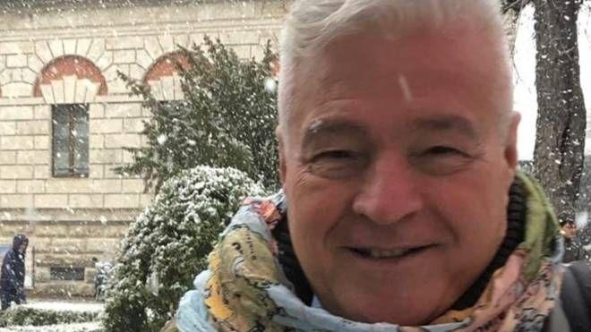 Marcello Cecconi, 70 anni, studente a Vilnius con una borsa Erasmus