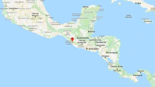 Terremoto al confine tra Messico e Guatemala