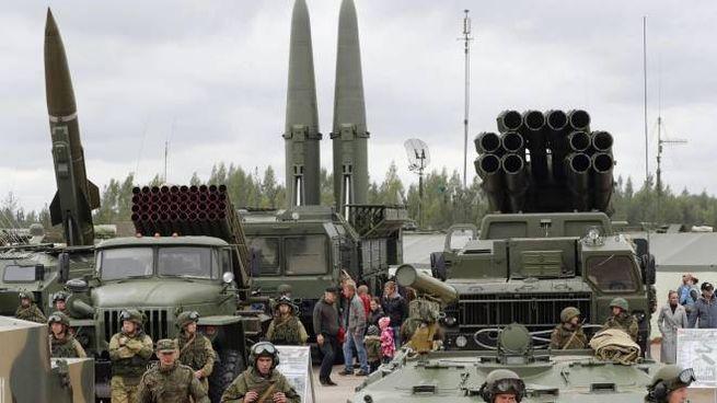 Missili balistici russi (Ansa)