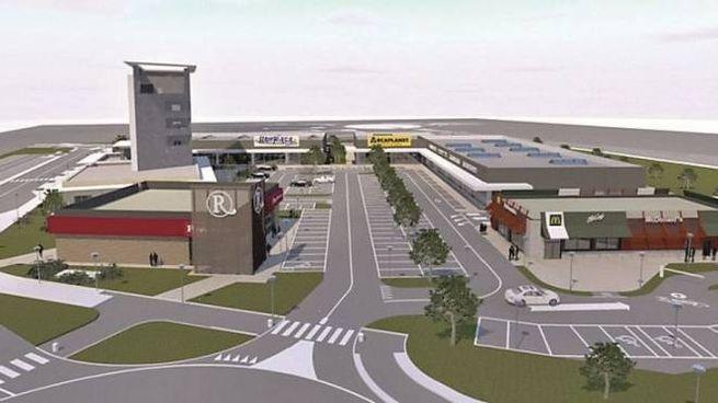 Forlì, il progetto del nuovo centro commerciale