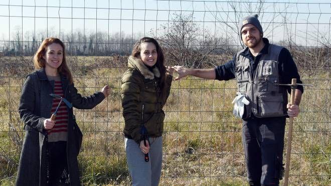 Chiara Bruckmann, Monica Liaci e Mario Cubello