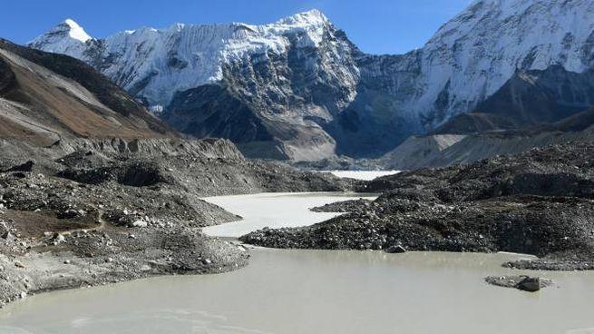 Himalaya, ghiacciai (Afp)