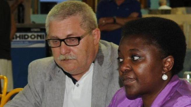 Domenico Grispino, il marito della Kyenge si candida con la Lega: 'Persone perbene'