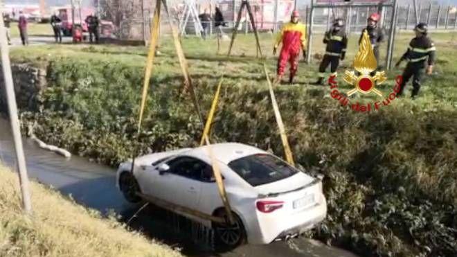 Il recupero dell'auto